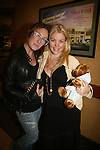 One Life To Live's BethAnn Bonner and Bree Williamson pose with a Create-A-Bear on May 22 - We Love Soaps Weekend on  May 21 and May 22 2010 at Villa Roma Resort in Callicoon, New York. (Photo by Sue Coflin/Max Photos)