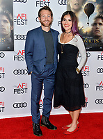 "LOS ANGELES, USA. November 20, 2019: Jamie Costa & Guest at the gala screening for ""The Aeronauts"" as part of the AFI Fest 2019 at the TCL Chinese Theatre.<br /> Picture: Paul Smith/Featureflash"