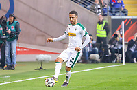 Fabian Johnson (Borussia Mönchengladbach) - 17.02.2019: Eintracht Frankfurt vs. Borussia Mönchengladbach, Commerzbank Arena, 22. Spieltag Bundesliga, DISCLAIMER: DFL regulations prohibit any use of photographs as image sequences and/or quasi-video.