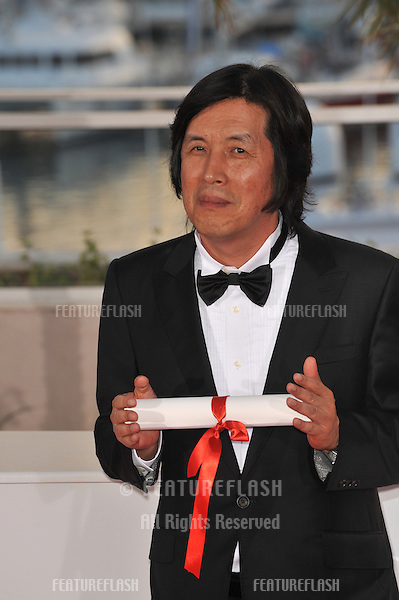 Chang-dong Lee at the closing Awards Gala at the 63rd Festival de Cannes..May 23, 2010  Cannes, France.Picture: Paul Smith / Featureflash