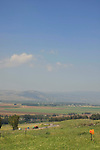 Golan Heights, a view of the Hula Valley from Mitzpe Gadot