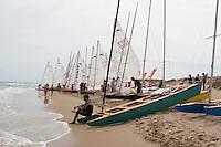 Preparativos .LXVI CAMPEONATO DE ESPAÑA DE PATÍN A VELA, Club de Vela la Dehesa del 26 al 29 de Agosto de 2009