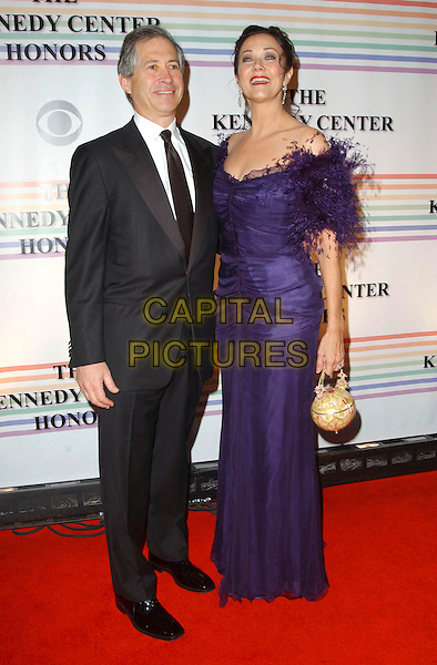 ROBERT ALTMAN & LINDA CARTER.Arrivals - 29th Annual Kennedy Center Honors, .held at the John F. Kennedy Center for the Performing Arts, Washington, D.C. USA, 03 December 2006..full length lynda purple dress married husband wife.CAP/ADM/GS.©George Shepherd/AdMedia/Capital Pictures