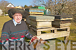 Killarney beekeeper Pat O'Connor who has run out of honey for his business Killarney Honey after the worst winter in 50 years