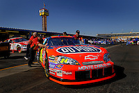 Apr 20, 2006; Phoenix, AZ, USA; The car of Nascar Nextel Cup racer Jeff Gordon, driver of the (24) DuPont Chevrolet Monte Carlo is pushed into the garage prior to practice for the Nextel Cup Subway Fresh 500 at Phoenix International Raceway. Mandatory Credit: Mark J. Rebilas-US PRESSWIRE Copyright © 2006 Mark J. Rebilas..