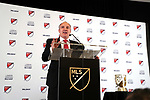 ATLANTA, GA - DECEMBER 05: Atlanta United FC team president Darren Eales. The 2018 MLS MVP Presentation was held on December 5, 2018 at the Arthur Blank Family Center in Atlanta, GA.