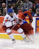 Stepan Novotny (Czech Republic - 16), Dmitri Kulikov (Russia - 3)Russia defeated the Czech Republic 5-1 on Friday, January 2, 2009, at Scotiabank Place in Kanata (Ottawa), Ontario, during the 2009 World Junior Championship.