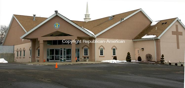 WATERBURY CT. 27 January 2014-012714SV09-Evangelical Christian Church on Watertown Avenue in Waterbury.<br /> Steven Valenti Republican-American