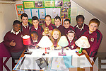 Moyderwell School who were part of the Young Scientist Primary Competition with a project on LED lighting, were pictured front l-r: Daniel Ayodeji, Lauren Houlihan and Leah Browne. Back l-r: Ike Anawyu, James Franklyn, Shane McCarthy, Vilte Dubickaite, Klevis Cenalia, Liam Moloney, Christina Obilane and Thomas Whyte.