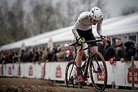 Jens Adams (BEL/Hollebeekhoeve)<br /> <br /> Elite + U23 Men's Race<br /> CX GP Leuven (BEL) 2020<br />  <br /> ©kramon
