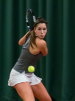 Wateringen, The Netherlands, March 9, 2018,  De Rijenhof , NOJK 12/16 years, Kim Hansen (NED)<br /> Photo: www.tennisimages.com/Henk Koster
