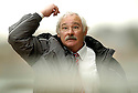 15/04/2006         Copyright Pic: James Stewart.File Name : sct_jspa06_falkirk_v_dunfermline.JIM LEISHMAN DURING THE GAME AGAINST FALKIRK... Payments to :.James Stewart Photo Agency 19 Carronlea Drive, Falkirk. FK2 8DN      Vat Reg No. 607 6932 25.Office     : +44 (0)1324 570906     .Mobile   : +44 (0)7721 416997.Fax         : +44 (0)1324 570906.E-mail  :  jim@jspa.co.uk.If you require further information then contact Jim Stewart on any of the numbers above.........