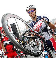 Jens Debusschere during the stage of La Vuelta 2012 between Barakaldo and Valdezcaray.August 21,2012. (ALTERPHOTOS/Acero) /NortePhoto.com