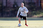 MARIETTA, GA - DECEMBER 06: Atlanta United FC Jeff Larentowicz. The MLS Cup 2018 Team Training Sessions were held on December 6, 2018 at the Children's Healthcare of Atlanta Training Ground in Marietta, GA.
