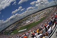Apr 28, 2007; Talladega, AL, USA; General view of the Nascar Busch Series Aarons 312 at Talladega Superspeedway. Mandatory Credit: Mark J. Rebilas