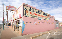 Joe and Aggies Cafe, mexican and american resturant in Holbrook Arizona, on Route 66.