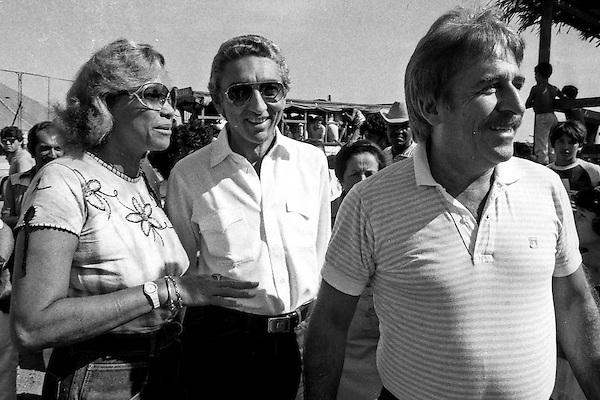 Garimpo de Serra Pelada.<br /> Major Curi&oacute; e Edson Lob&atilde;o.<br /> Foto Paulo Santos<br /> 1985