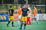 BLOEMENDAAL -  Teleurstelling bij Arjen Lodewijks (Den Bosch) na de verloren  hoofdklasse competitiewedstrijd hockey heren,  Bloemendaal-Den Bosch (2-1)   COPYRIGHT KOEN SUYK