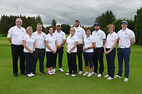 Warrenpoint Team ahead of the I need Spain Ulster Mixed Foursomes  Final at Killymoon Golf Club, Belfast, Northern Ireland. 26/08/2017<br /> Picture: Fran Caffrey / Golffile<br /> <br /> All photo usage must carry mandatory copyright credit (&copy; Golffile | Fran Caffrey)