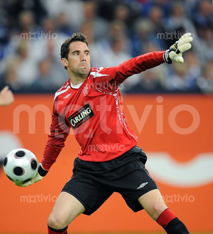 Fussball   INTERNATIONALES TESTSPIEL   SAISON 2008/2009       FC Schalke 04  - Glasgow Rangers             19.07.2008 Torwart Neil ALEXANDER (FC Schalke 04)