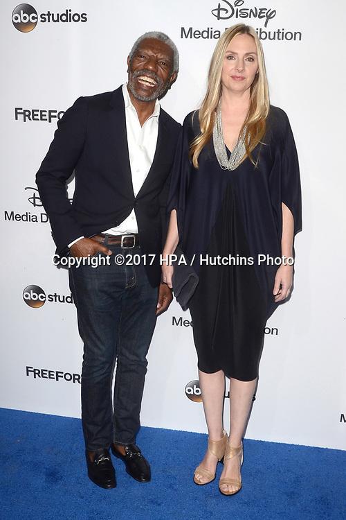 LOS ANGELES - MAY 21:  Vondie Curtis-Hall, Hope Davis at the 2017 ABC/Disney Media Distribution International Upfront at the Walt Disney Studios on May 21, 2017 in Burbank, CA