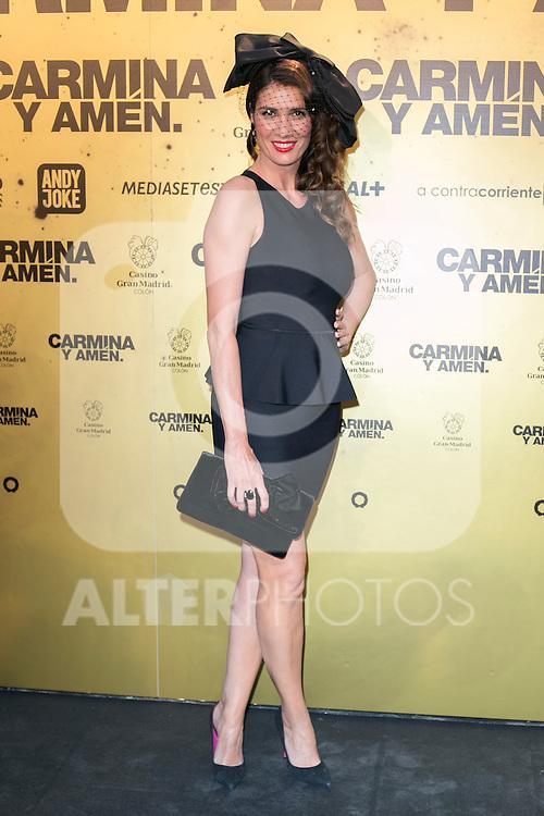 "Spanish Actress Elia Galera attend the Premiere of the movie ""Carmina y Amen"" at the Callao Cinema in Madrid, Spain. April 28, 2014. (ALTERPHOTOS/Carlos Dafonte)"