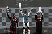 Race 1, Gold Podium, #52 Kelly-Moss Road and Race, Porsche 991 / 2016, GT3G: Kurt Fazekas, #5 TPC Racing, Porsche 991 / 2016, GT3G: Rob Ferriol, #27 NGT Motorsport, Porsche 991 / 2014, GT3G: Sebastian Carazo