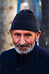 Portrait of an elderly iranian Azeri.