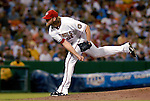 16 June 2006: Jon Rauch, pitcher for the Washington Nationals, on the mound against the New York Yankees at RFK Stadium, in Washington, DC. The Yankees defeated the Nationals 7-5 in the first meeting of the two franchises...Mandatory Photo Credit: Ed Wolfstein Photo...