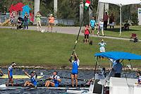 Sarasota. Florida USA.Sunday Final's Day at the  2017 World Rowing Championships, Nathan Benderson Park<br /> <br /> Sunday  01.10.17   <br /> <br /> [Mandatory Credit. Peter SPURRIER/Intersport Images].<br /> <br /> <br /> NIKON CORPORATION -  NIKON D4S  lens  VR 500mm f/4G IF-ED mm. 320 ISO 1/1600/sec. f 8