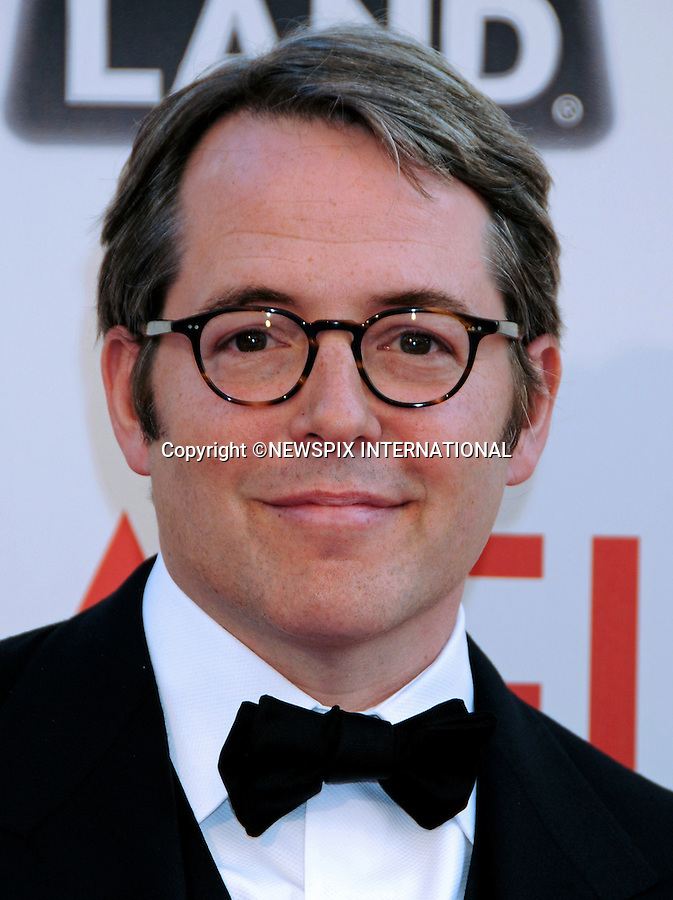 """MATHEW BRODERICK.attends TV Land Presents: The AFI Life Achievement Awards Honoring Morgan Freeman at Sony Pictures Studios, Culver City, California_9 June 2011.Mandatory Photo Credit: ©Crosby/Newspix International. .**ALL FEES PAYABLE TO: """"NEWSPIX INTERNATIONAL""""**..PHOTO CREDIT MANDATORY!!: NEWSPIX INTERNATIONAL(Failure to credit will incur a surcharge of 100% of reproduction fees)..IMMEDIATE CONFIRMATION OF USAGE REQUIRED:.Newspix International, 31 Chinnery Hill, Bishop's Stortford, ENGLAND CM23 3PS.Tel:+441279 324672  ; Fax: +441279656877.Mobile:  0777568 1153.e-mail: info@newspixinternational.co.uk"""