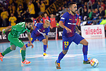 League LNFS 2017/2018 - Game 10.<br /> FC Barcelona Lassa vs CA Osasuna Magna: 3-3.<br /> Joselito.