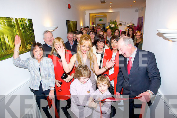 OPENING: On Friday evening The Cooper Medi Care was offically opened by the children of Dr Michelle Cooper with many friend wishing Michelle all the beat.
