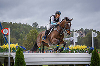 AUS-Shane Rose rides Virgil during the Cross Country for the FEI World Team and Individual Eventing Championship. 2018 FEI World Equestrian Games Tryon. Saturday 15 September. Photo Credit: Julie Butson. Copyright Photo: Libby Law Photography
