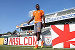 22 July 2016: Carolina's James Marcelin (HAI). The Carolina RailHawks hosted Miami FC at WakeMed Stadium in Cary, North Carolina in a 2016 North American Soccer League Fall Season game. The game ended in a 3-3 tie.