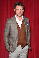 James Bye<br /> arrives for the British Soap Awards 2016 at Hackney Empire, London.<br /> <br /> <br /> &copy;Ash Knotek  D3124  28/05/2016