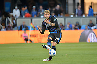 San Jose, CA - Saturday June 09, 2018: Yeferson Quintana during a Major League Soccer (MLS) match between the San Jose Earthquakes and Los Angeles Football Club at Avaya Stadium.