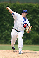 June 18th 2007:  Sean Gallagher of the Chicago Cubs during a game at Wrigley Field in Chicago, IL.  Photo by:  Mike Janes/Four Seam Images