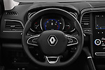 Car pictures of steering wheel view of a 2017 Renault Koleos Zen 5 Door SUV