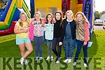 Enjoying the Tralee Rugby Club Family Fun Day at O'Dowd Park on Sunday werel-r Christina Ronan, Rosie Giles, Evelyn Fox, Alex Maritz, Amy Darcy and Allison McEvoy.