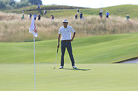 Pedro Oriol (ESP) on the 18th during Round 3 of the HNA Open De France at Le Golf National in Saint-Quentin-En-Yvelines, Paris, France on Saturday 30th June 2018.<br /> Picture:  Thos Caffrey | Golffile
