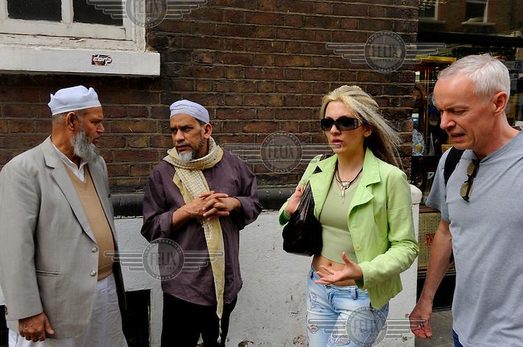 London's Brick Lane, the heart of the city's Bangladeshi community.