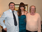 Tamara Martin celebrating her 18th birthday with grandparents George and May Beardsley. Photo:Colin Bell/pressphotos.ie