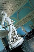 Europe/Italie/Lac de Come/Lombardie/Tremezzo : Villa Carlotta (XVIII°) - Statue de Marte E Venere par Luigi Acquisti (1745-1823)