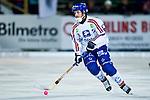 Bollnäs 2013-02-17 Bandy SM-kvartsfinal , Bollnäs GIF - Edsbyns IF :  .Edsbyn 8 Hans Andersson i aktion.(Byline: Foto: Kenta Jönsson) Nyckelord:  porträtt portrait