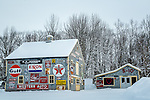 The Love Barn in Orland, Maine, USA
