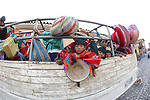 Child On Truck Transport