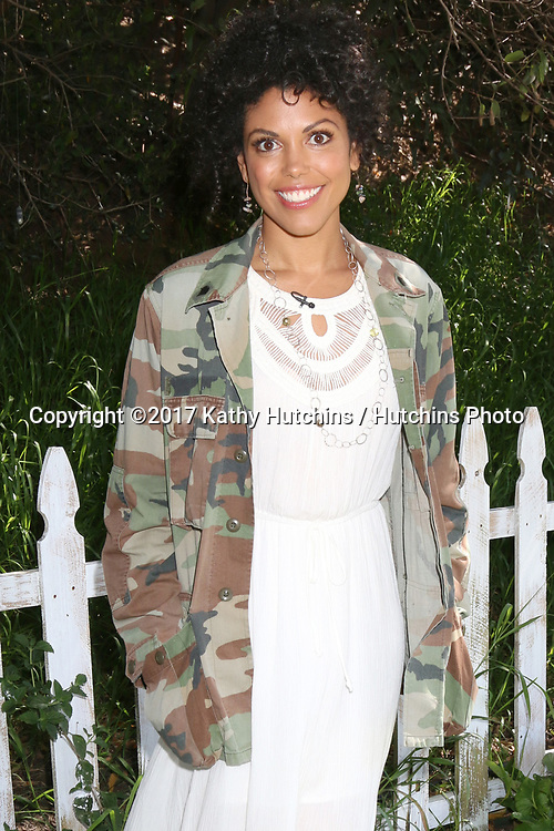 """LOS ANGELES - APR 14:  Karla Mosley at the """"Home and Family"""" Celebrates """"Bold and Beautiful's"""" 30 Years at Universal Studios Back Lot on April 14, 2017 in Los Angeles, CA"""