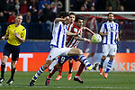 Atletico de Madrid´s Augusto during 2015-16 La Liga match between Atletico de Madrid and Real Sociedad at Vicente Calderon stadium in Madrid, Spain. March 01, 2016. (ALTERPHOTOS/Victor Blanco)