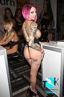 Anna Bell Peaks at AVN Expo, <br /> Hard Rock Hotel, <br /> Las Vegas, NV, Wednesday January 18, 2017.